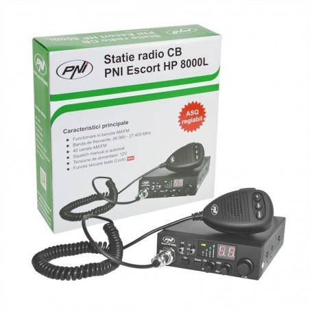 Statie radio CB PNI Escort HP 8000L, ASQ reglabil, 4W