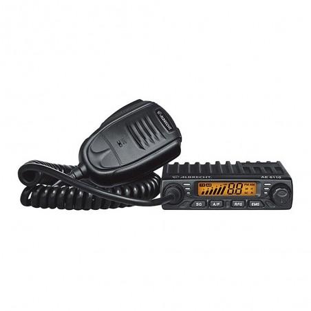 Statie radio CB Albrecht AE 6110, reglabila 4W / 8W, 25W fixa