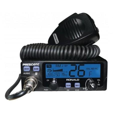 Statie radio CB President Ronald 10/11/12M, reglabila 4-40W