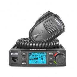 Statie radio CB Avanti Delta, 12/24V, 4-15W, versiune export