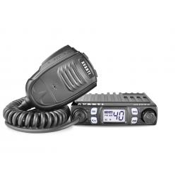 Statie radio CB Avanti Micro, 4W, 8W, versiune export, statie de emisie-receptie de dimensiuni foarte mici, produsa de Avanti.