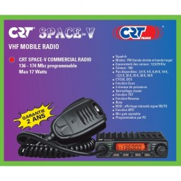 Statie radio radioamatori, taxi, CRT SPACE V 136-174 MHz ambalaj