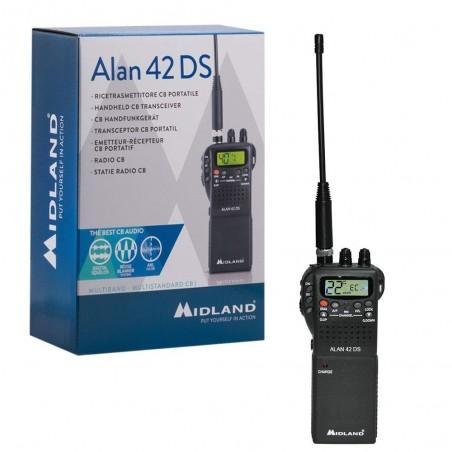 Statie radio CB portabila Midland Alan 42 DS Squelch Automat Digital
