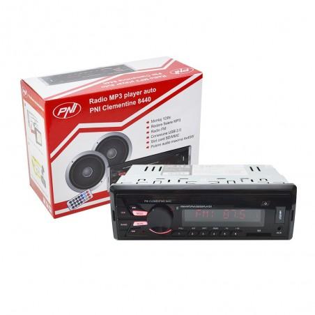 Radio MP3 Player auto PNI Clementine 8440, 4 x 45W, SD, USB, AUX, RCA