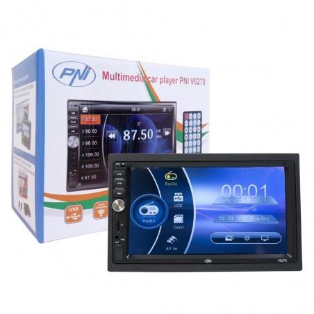 Multimedia player auto MP3 / MP4 / MP5 PNI V6270, 2DIN