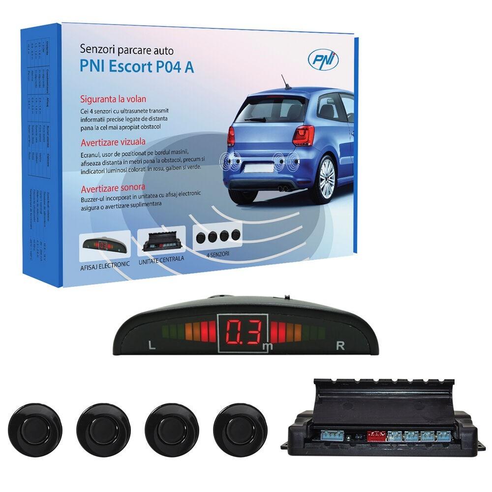 Senzori parcare auto PNI Escort P04 A 4 receptori