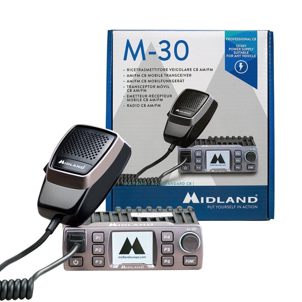 Statie radio CB Midland M-30 alimentare 12-24V