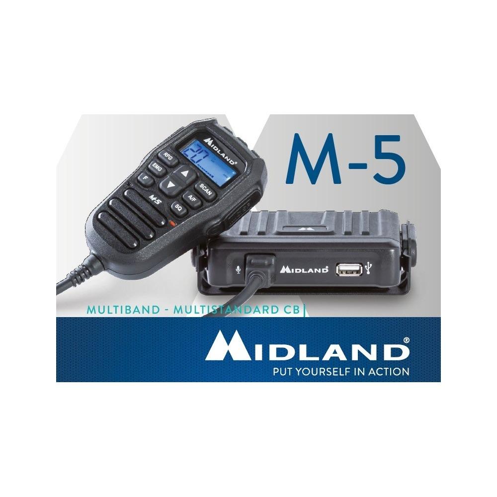 Statie Radio CB Midland M-5 ASQ, RF Gain