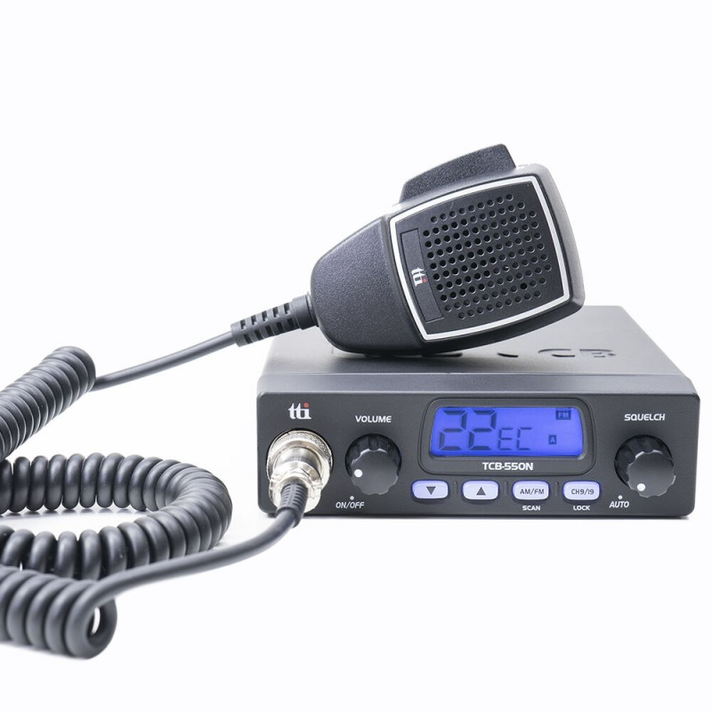 Statie radio CB TTi TCB-550 N squelch automat