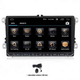 Navigatie dedicata VW Touran 2003-2015, Android 8.0, Quad Core, GPS, Mirrorlink