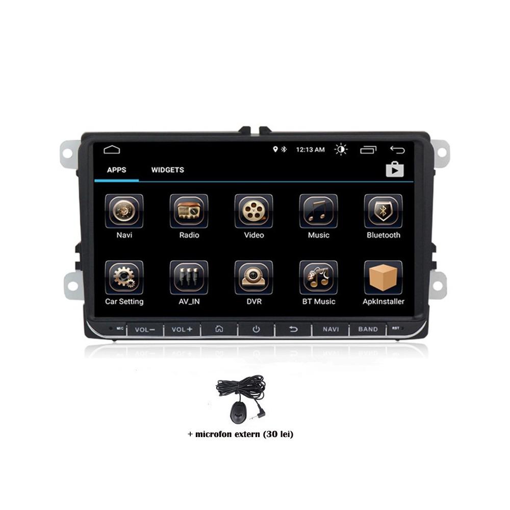 Navigatie dedicata VW Touran 2003-2015, Android 8.0, Quad Core, GPS, Mirrorlink