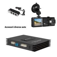 Camere auto DVR, mudulator FM, senzori parcare, kit xenon, triple auto