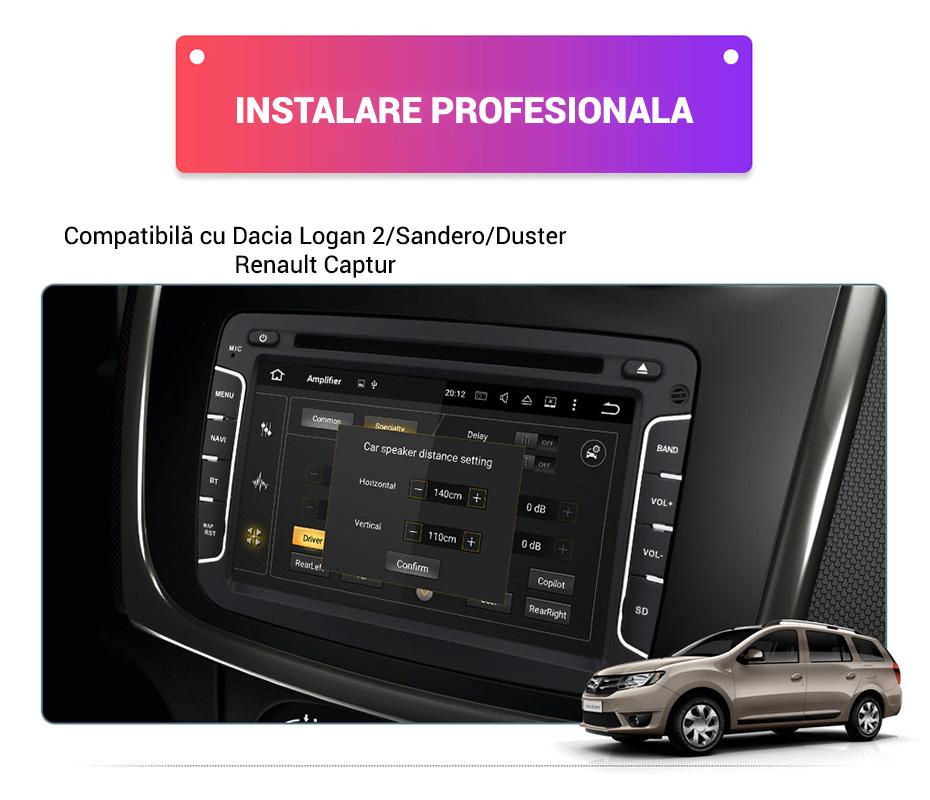 Navigatie compatibila Dacia Logan, Duster, Captur, MCV