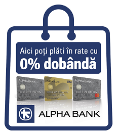 Alpha Bank - Plata in rate pe eldaselectric.ro