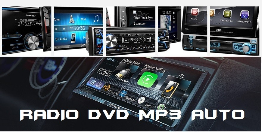 Playere auto profesionale, USB, CD, DVD, Mp3